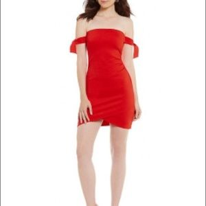 Gianni Bini Red Cocktail Dress S